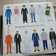 CDs de Música: PET SHOP BOYS – STORY (25 YEARS OF HITS) - CD 2009 - CARTÓN - DIARIO THE MAIL PROMO. Lote 289632613