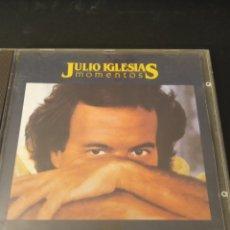 """CDs de Música: CD JULIO IGLESIAS """" MOMENTOS """". Lote 289632768"""