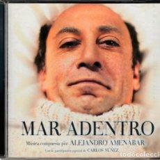 CDs de Música: MAR ADENTRO (2004) - ALEJANDRO AMENÁBAR - CD - BSO GANADORA DEL GOYA. Lote 289637003