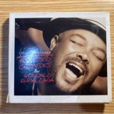 CDs de Música: FRANCISCO CÉSPEDES & GONZALO RUBALCABA: CON EL PERMISO DE BOLA(CD'S+ DVD).. Lote 289640888