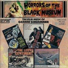 CDs de Música: HORROR OF THE BLACK MUSEUM / GERARD SCHURMANN CD BSO. Lote 289648218
