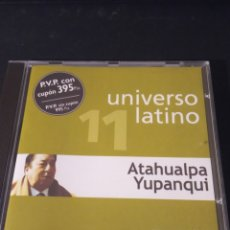 "CDs de Música: CD PROMO UNIVERSO LATINO "" ATAHUALPA YUPANQUI "". Lote 289648588"