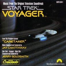 CDs de Música: STAR TREK: VOYAGER / JAY CHATTAWAY & JERRY GOLDSMITH CD BSO. Lote 289648603