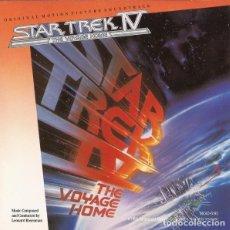 CDs de Música: STAR TREK IV: THE VOYAGE HOME / LEONARD ROSENMAN CD BSO. Lote 289648928