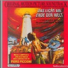 CDs de Música: DAS LICHT AM ENDE DER WELT / PIERO PICCIONI CD BSO. Lote 289650718