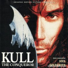 CDs de Música: KULL: THE CONQUEROR / JOEL GOLDSMITH CD BSO. Lote 289651148