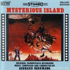 CDs de Música: MYSTERIOUS ISLAND / BERNARD HERRMANN CD BSO - CNR. Lote 289651223