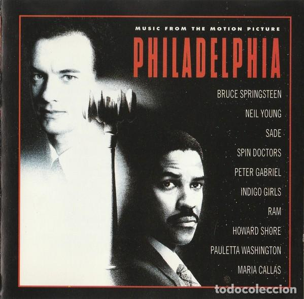PHILADELPHIA (MUSIC FROM THE MOTION PICTURE) (CD, ALBUM) (Música - CD's Bandas Sonoras)