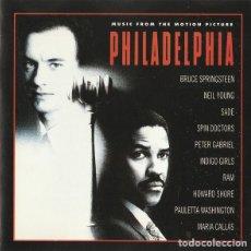 CDs de Música: PHILADELPHIA (MUSIC FROM THE MOTION PICTURE) (CD, ALBUM). Lote 289669543