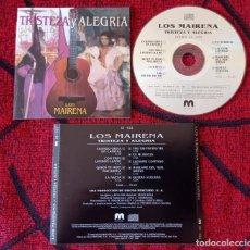 CDs de Música: LOS MAIRENA TRISTEZA Y ALEGRÍA CD ORIGINAL 1996 DESCATALOGADO MUY DIFICIL. Lote 289673273