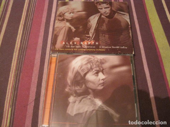 CD ALEX NORTH + LIBRETO UN TRANVÍA LLAMADO DESEO MISFITS BAD SEED SPARTACO VIVA ZAPATA (Música - CD's Bandas Sonoras)