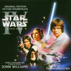CDs de Música: JOHN WILLIAMS - STAR WARS: EPISODE IV - A NEW HOPE (ORIGINAL MOTION PICTURE SOUNDTRACK) (2XCD). Lote 289674583