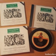 CDs de Música: I CONCURSO DE CANTE JONDO GRANADA 1922 ESTUCHE CON LIBRETO Y CD CENTRO DE DOCUMENTACIÓN MUSICAL. Lote 289678388