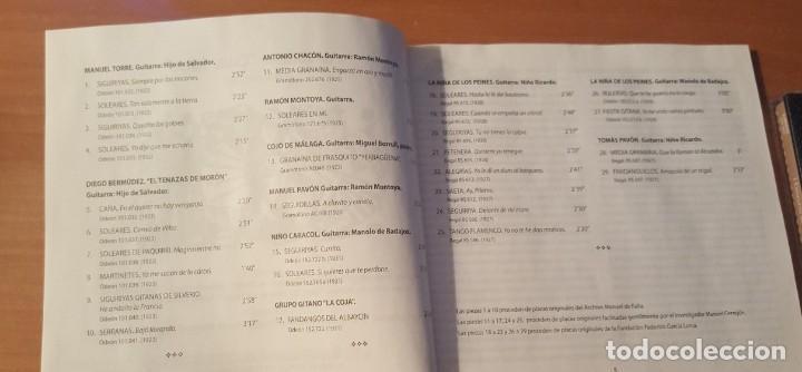 CDs de Música: I CONCURSO DE CANTE JONDO Granada 1922 Estuche con libreto y CD Centro de Documentación Musical - Foto 2 - 289678388