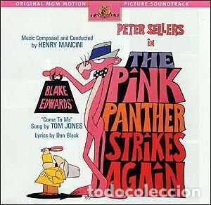 THE PINK PANTHER STRIKES AGAIN - HENRY MANCINI - LA PANTERA ROSA ATACA DE NUEVO (Música - CD's Bandas Sonoras)