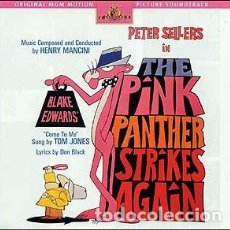 CDs de Música: THE PINK PANTHER STRIKES AGAIN - HENRY MANCINI - LA PANTERA ROSA ATACA DE NUEVO. Lote 289688373