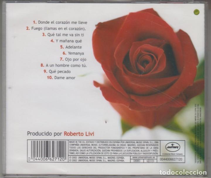 CDs de Música: Isabel Pantoja cd Donde el corazón me lleve 2002 - Foto 2 - 289695398