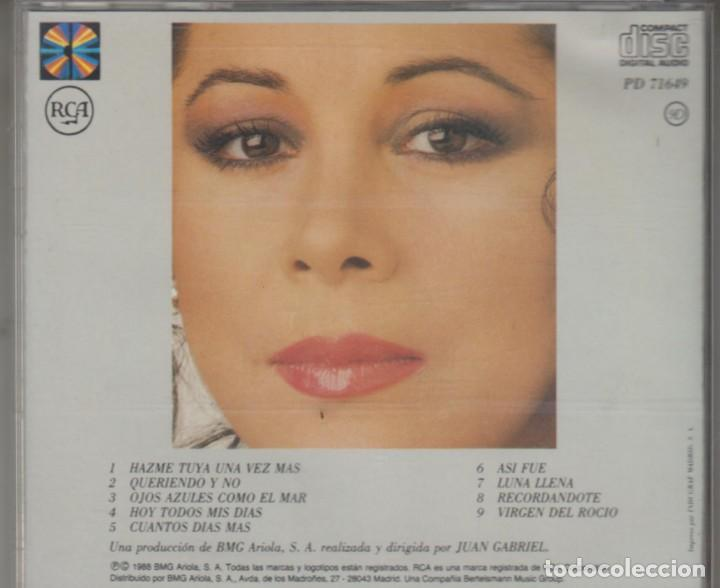 CDs de Música: Isabel Pantoja cd Desde Andalucía 1988 - Foto 2 - 289695923