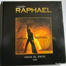CDs de Música: CD LIBRO TODO RAPHAEL HACIA EL EXITO 1967 CUANDO CALIENTA EL SOL , LLEVAN , CADA CUAL , TU VOLVERAS. Lote 289730553