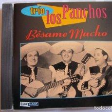 CDs de Música: CD LOS PANCHOS BESAME MUCHO , PERFIDIA , AMOR , QUIEREME MUCHO , MARIA ELENA , MI MAGDALENA ,. Lote 289731113