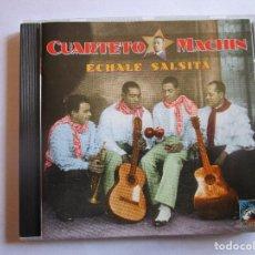 CDs de Música: CD CUARTETO MACHIN ECHALE SALSITA , VACILANDO , EL CASTIGADOR , MUÑEQUITA , ILUSION CHINA ,. Lote 289731578