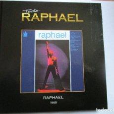 CDs de Música: CD LIBRO TODO RAPHAEL 1965 ET MAINTENANT , MI VIDA , UN LARGO CAMINO . TODAS LAS CHICAS ME GUSTAN ,. Lote 289737153