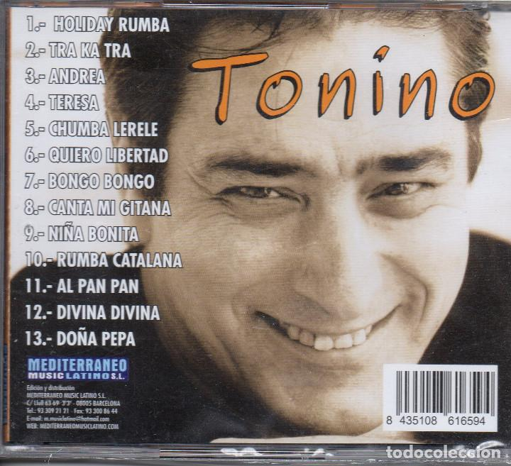 CDs de Música: TONINO-- HOLIDAY RUMBA - Foto 2 - 289756088