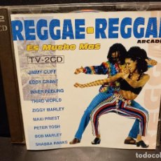 CDs de Música: DOBLE CD, RECOPILATORIO, REGGAE-REGGAE, VARIOS ARTISTAS. ARCADE 1993 PEPETO. Lote 289758933