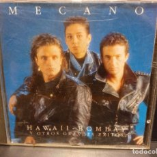 CDs de Música: MECANO HAWAII BOMBAY Y OTROS GRANDES EXITOS CD ALBUM 1991 NACHO CANO ANA TORROJA 15 TEMAS PEPETO. Lote 289759258