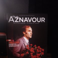 CDs de Música: AZNAVOUR LIBRO DISCO ( TEXTO EN FRANCÉS). Lote 289761963