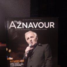 CDs de Música: AZNAVOUR LIBRO DISCO (TEXTO EN FRANCÉS). Lote 289762088