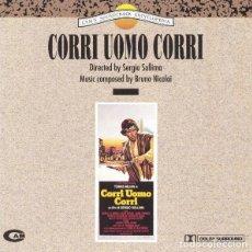CDs de Música: CORRI UOMO CORRI / BRUNO NICOLAI CD BSO - CAM. Lote 289768173