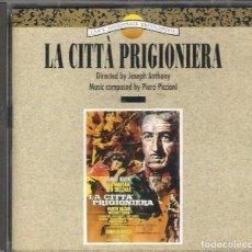 CDs de Música: LA CITTÀ PRIGIONIERA / PIERO PICCIONI CD BSO - CAM. Lote 289768473