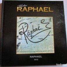 CDs de Música: CD LIBRO TODO RAPHAEL MI AMANTE NIÑA MI COMPAÑERA , LOS CAMPANILLEROS , EL VIAJERO , FRANCESKA ,. Lote 289769908