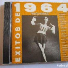 CDs de Música: CD EXITOS 1964 TONY RONALD , KARINA , LONE STAR , LOS PEKENIKES , LOS MUSTANG , ALBERTO CORTEZ ,. Lote 289770038