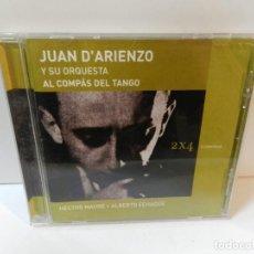 CDs de Música: DISCO CD. JUAN D'ARIENZO – AL COMPAS DEL TANGO. COMPACT DISC.. Lote 289787098