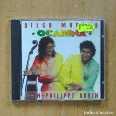 CDs de Música: DIEGO MODENA / JEAN PHILIPPE AUDIN - OCARINA - CD. Lote 289792208