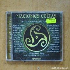 CDs de Música: VARIOS - NACIONES CELTAS - 2 CD. Lote 289792888