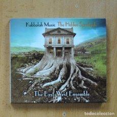 CDs de Música: THE EAST-WEST ENSEMBLE - KABBALAH MUSIC THE HIDDEN SPIRITUALS - CD. Lote 289792973