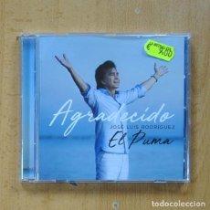 CDs de Música: JOSE LUIS RODRIGUEZ EL PUMA - AGRADECIDO - CD. Lote 289793173