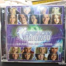 CDs de Música: OPERACION TRIUNFO LA FUERZA DE LA VIDA. Lote 289813318