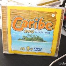 CDs de Música: CARIBE 2002 CD3 Y DVD. Lote 289813598