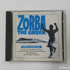 CDs de Música: ZORBA THE GREEK - ORIGINAL SOUNDTRACK. MIKIS THEODORAKIS. CD. TDKCD84. Lote 289857743