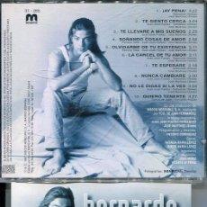 CDs de Música: BERNARDO / DESEO AZUL (CD MERCURIO 1997). Lote 289859403