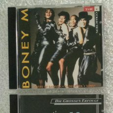 CDs de Música: LOTE 2 CD - BONEY M. / RIVERS OF BABYLON (BMG ARIOLA 1991) + FANTASTIC (GERMANY 1984 HANSA). Lote 289869908