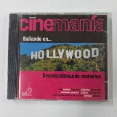 CDs de Música: CINEMANÍA - DESENCADENANDO MELODAS. Nº 2. BAILANDO EN HOLLYWOOD. CD. TDKCD84. Lote 289871993