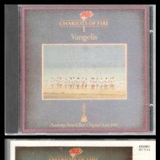 CDs de Música: D. CD. VANGELIS, CHARIOTS OF FIRE.. Lote 289875998