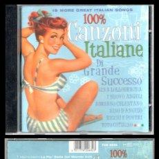CDs de Música: D. CD. CANZONI ITALIANE.. Lote 289878078