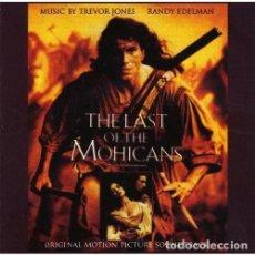 CDs de Música: LAST OF THE MOHICANS / EL ÚLTIMO MOHICANO - TREVOR JONES - CD. Lote 289881673