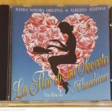 CDs de Música: B.S.O. LA FLOR DE MI SECRETO - CD 1995 ALBERTO IGLESIAS, CHAVELA VARGAS, CAETANO VELOSO.... Lote 289883078